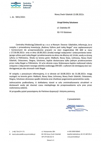 komunikat_centralnego_wodociagu_zulawskiego