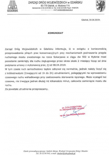 komunikat_droga_502_rybina_most