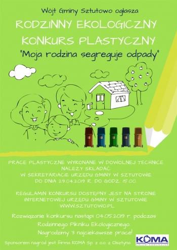 Rodzinny konkurs ekologiczny